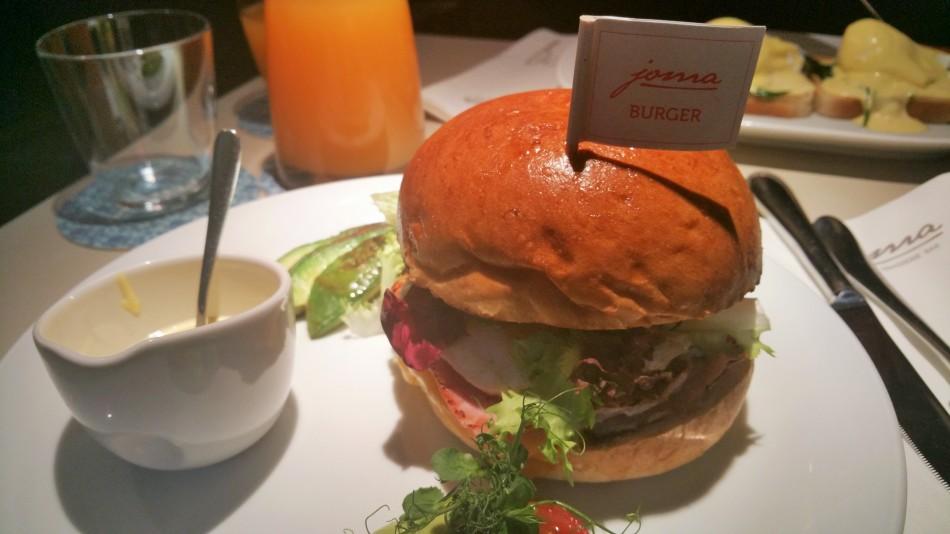 Schaut dieser Frühstücks-Burger nicht köstlich aus?