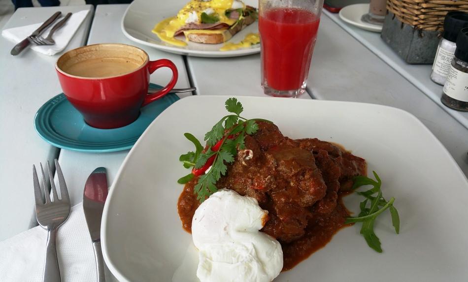 Hühnerleber zum Frühstück