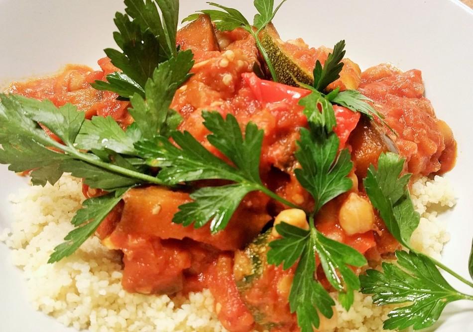 Marokkanische Gemüse Tajine
