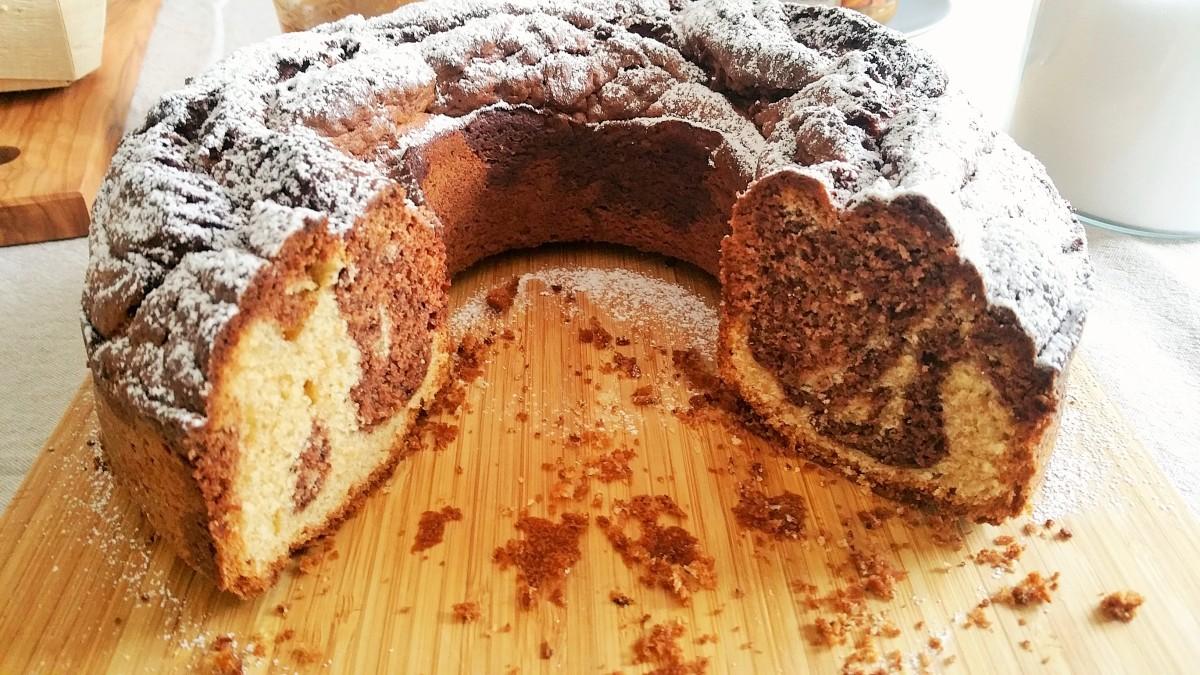 Marmorkranzkuchen glutenfrei
