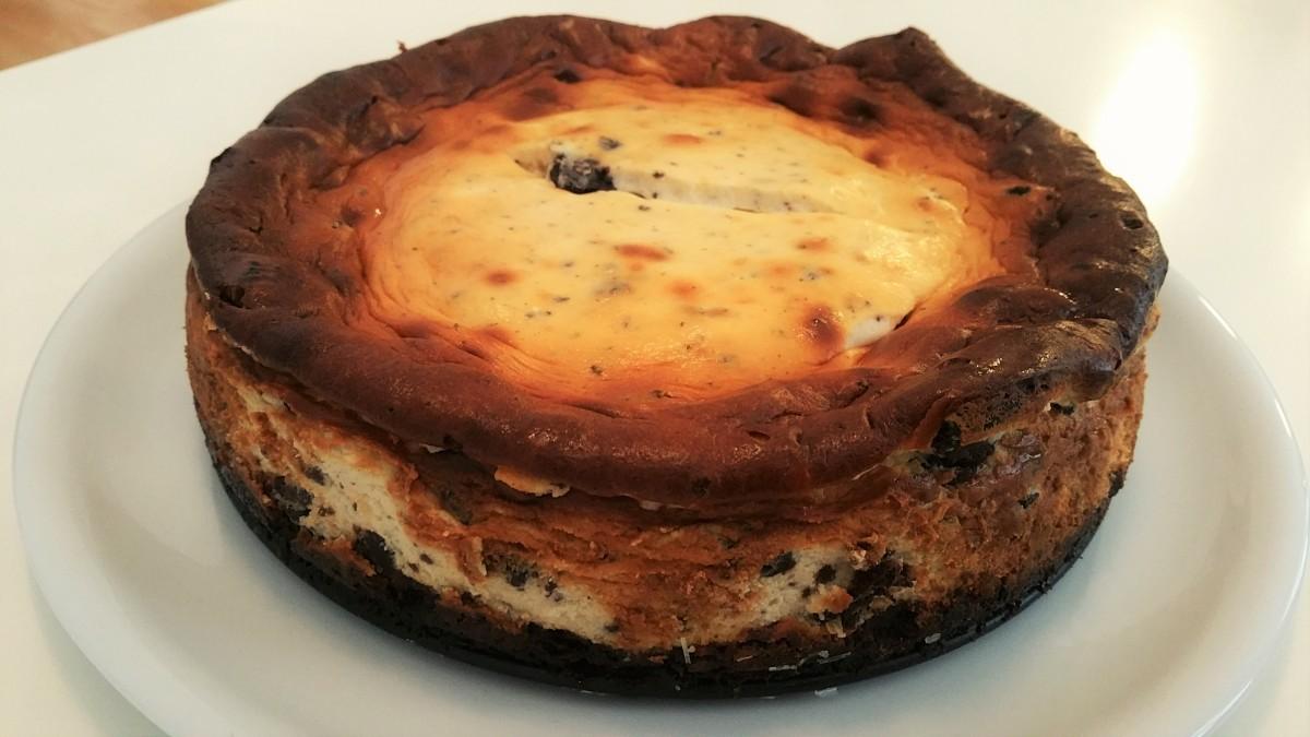 Gebackener Oreo Cheesecake