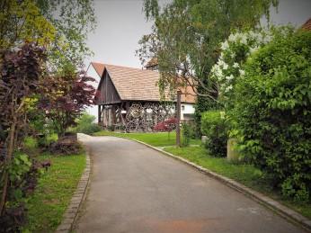 Der Blick zum Radhaus.
