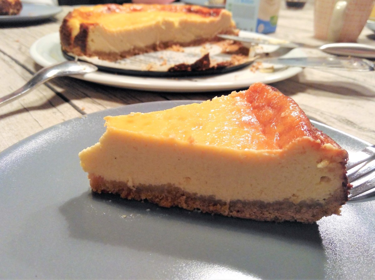 Limetten Cheesecake - gebacken
