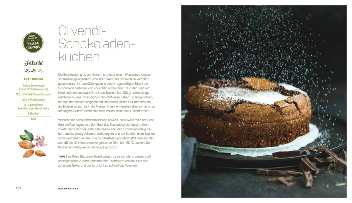 Olivenöl-Schokoladenkuchen