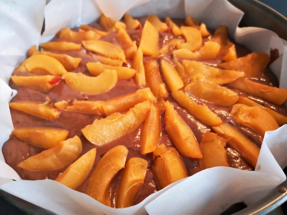 Veganer Marillenkuchen